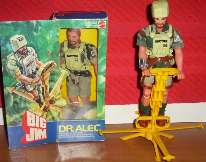 Elicottero Big Jim Anni 80 : Big jim spaziali